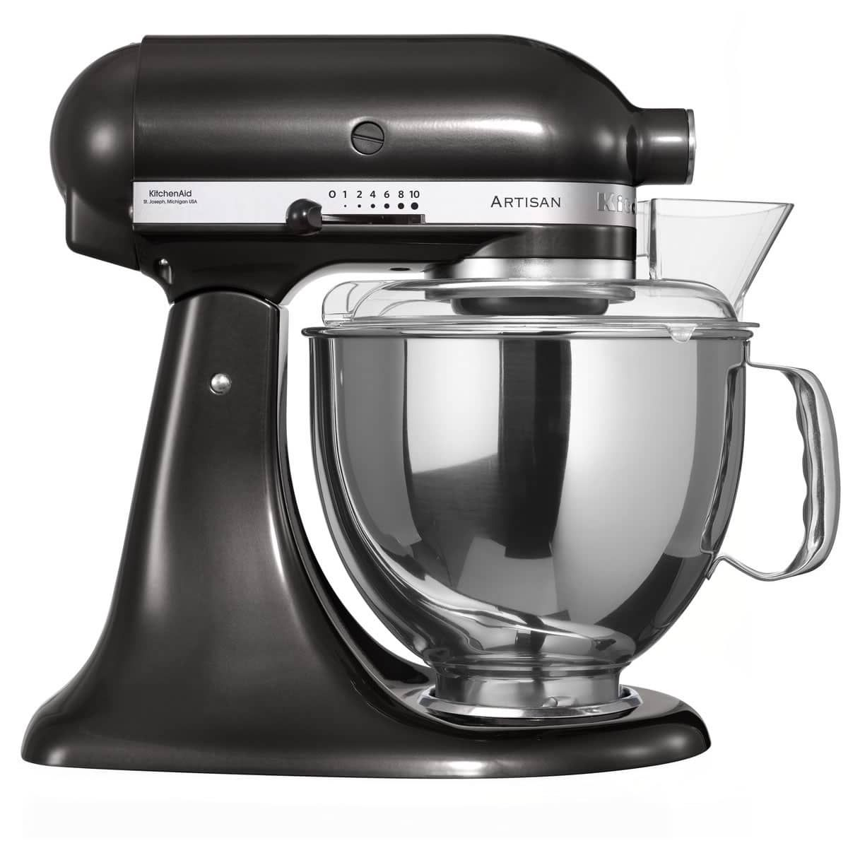 Kitchenaid artisan mixer 48l black storm ksm150psbz