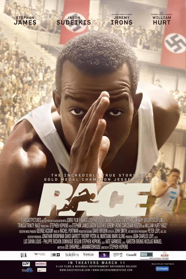 Race Movie Review Jesse Owens #movie #celebrity | Stephen hopkins, Jesse  owens, English movies