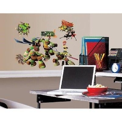 Peel-Stick-Wall-Decals-Teenage-Mutant-Ninja-Turtles-Sticker-Art-Bedroom-Play