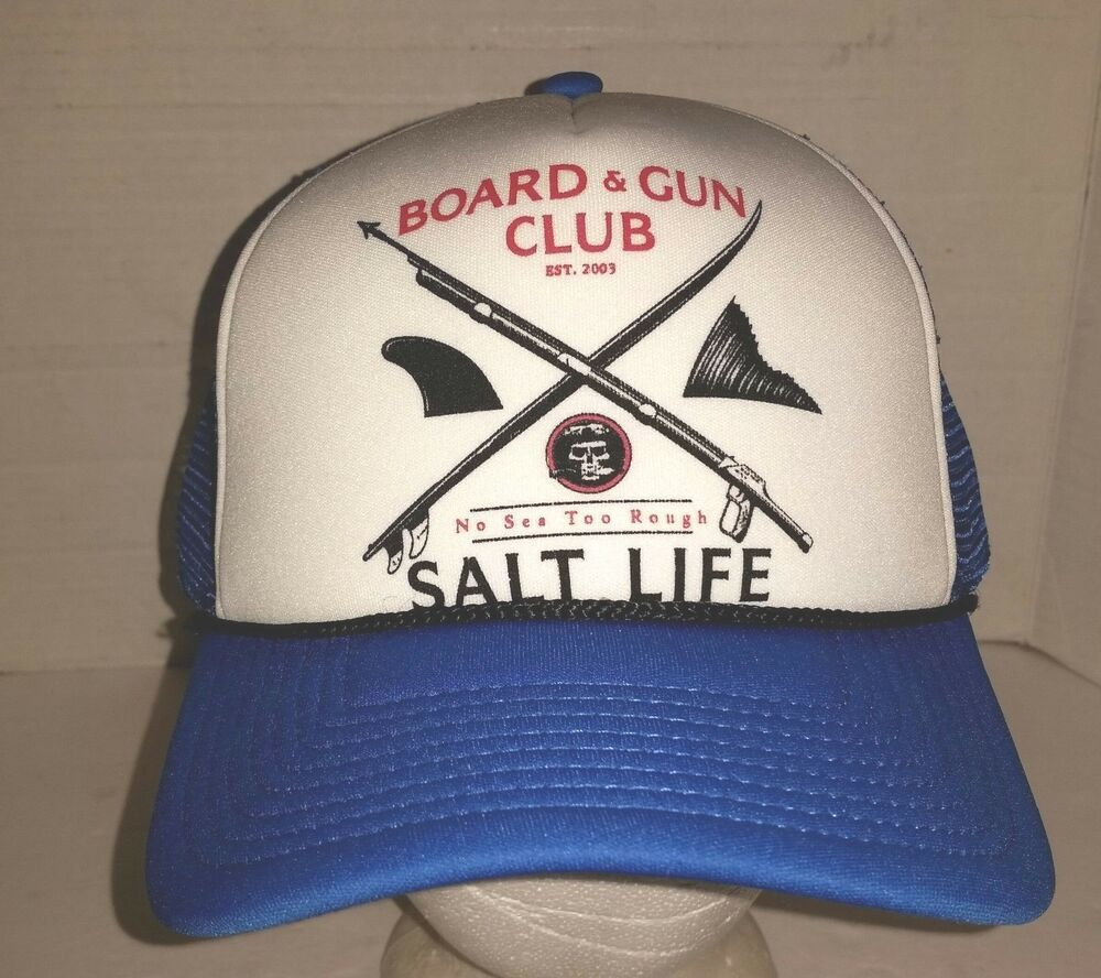 83893b621c498 NWT Salt Life Fishing Mesh Back Baseball Cap Polyester Size Fits Most   fashion  clothing  shoes  accessories  mensaccessories  hats (ebay link)