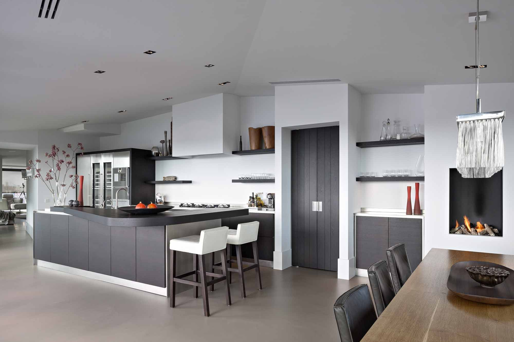 The living kitchen moderne luxe keuken in obly keukens