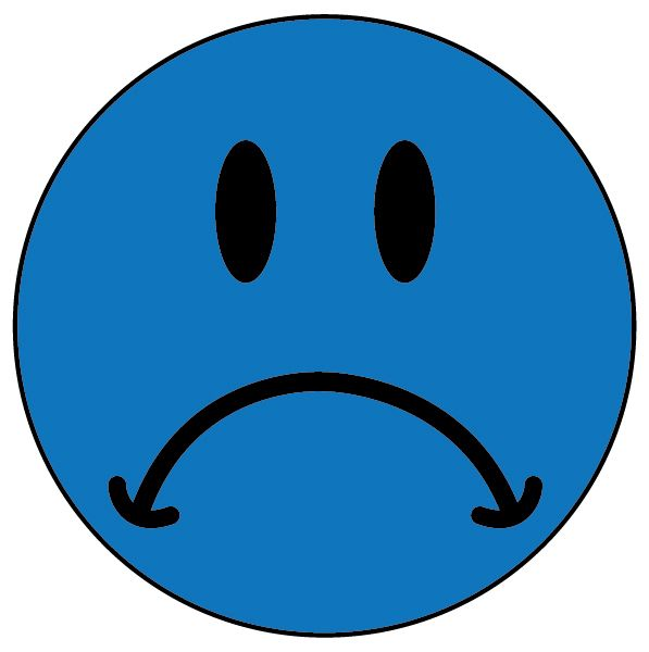 Sad Smiley Face - Cliparts.co | EMOTICONE | Pinterest | To ...