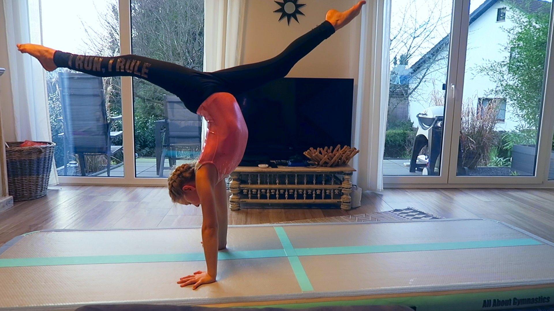 Bogengang Vorwarts Lernen Tutorial Fur Anfanger Turnen Gymnastik