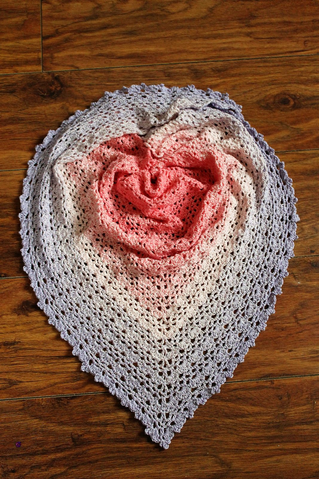 Ravelry: Honey Blossoms Shawl by Jinty Lyons | crocheting ...