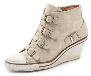 Ash Genial Wedge Sneakers on shopstyle.com