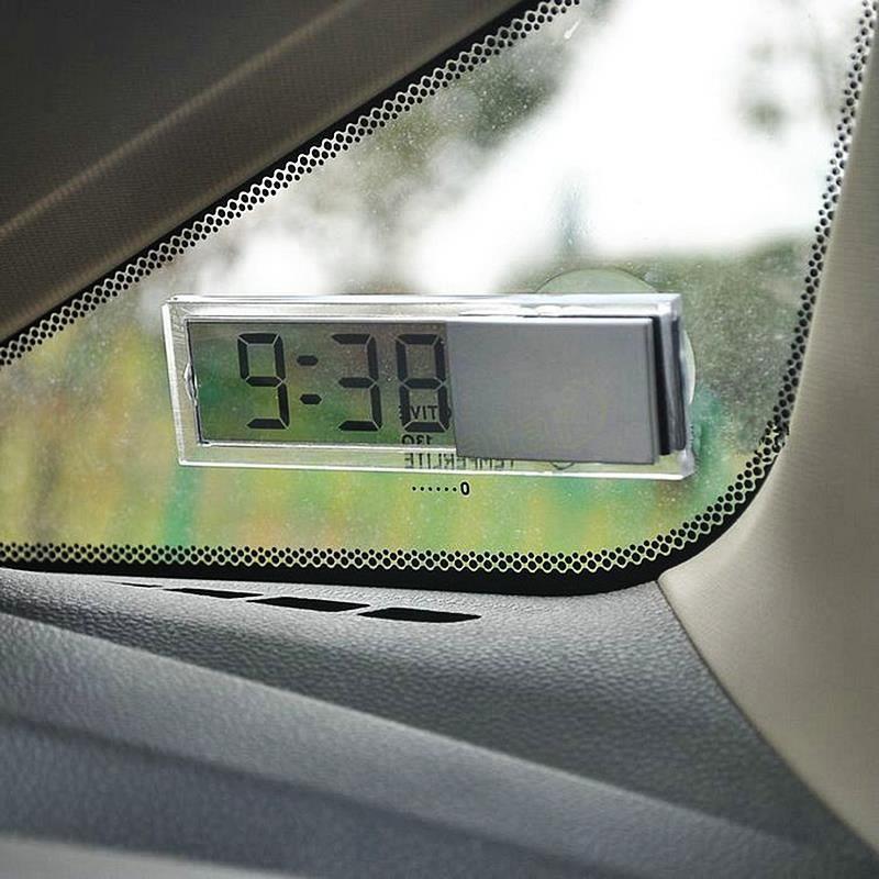 Gorący Samochodów Ozdoby Trwała Cyfrowy Wyświetlacz LCD
