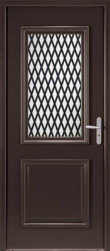 porte mixte porte entree bel 39 m classique poignee plaque gris deco bel 39 m mi vitree grille. Black Bedroom Furniture Sets. Home Design Ideas