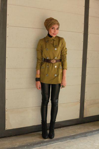 Yuna Zarai | Hijabstyle | Pinterest | Turban Modern hijab and Hijab chic