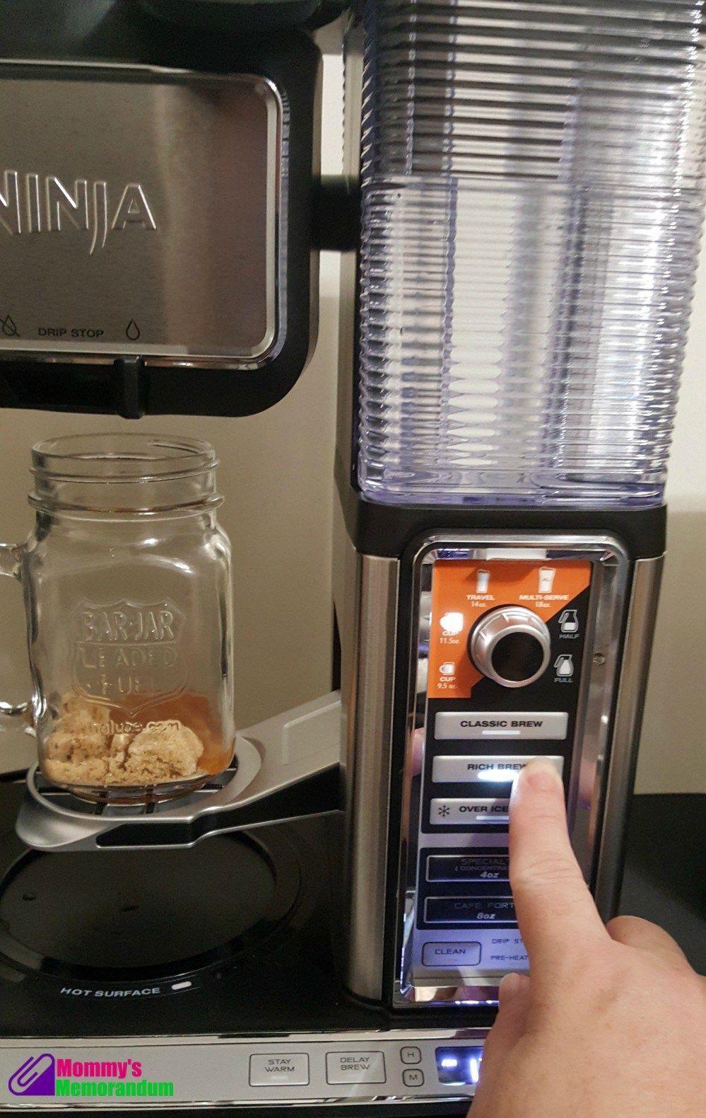 Too Good Toffee Coffee Recipe with the Ninja Coffee Bar