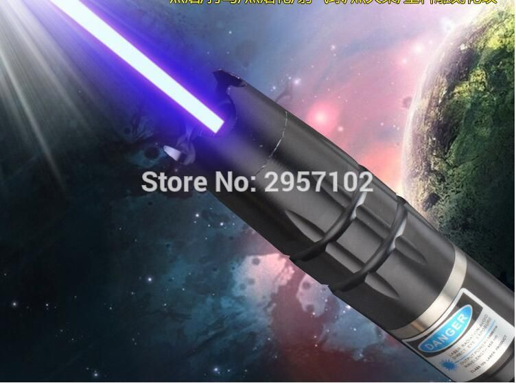 New High Power Military 200w 200000mw Blue Laser Pointer 450nm