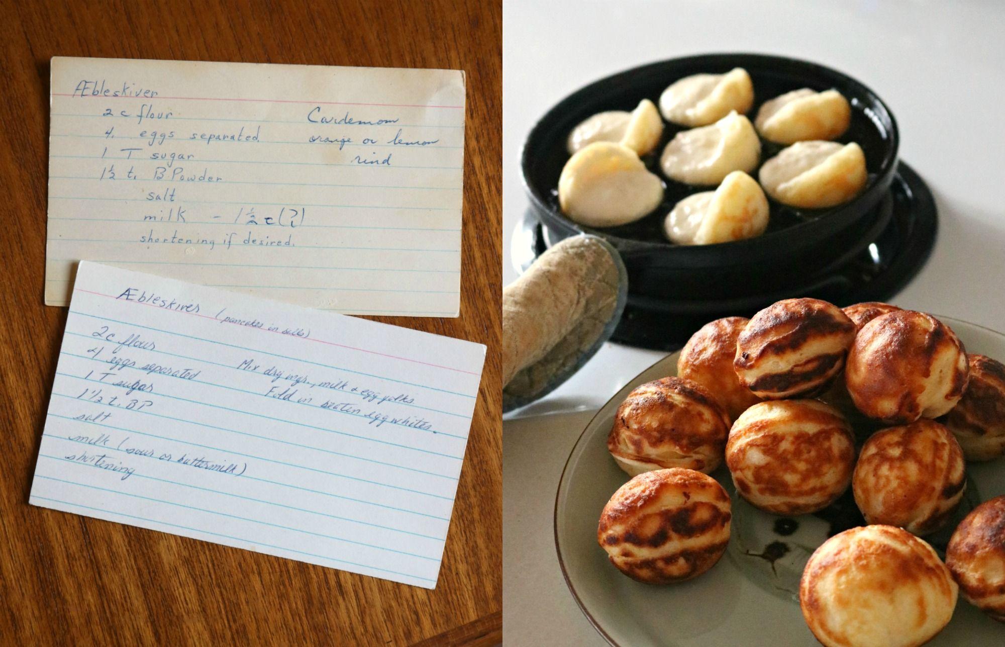 Danish U00c6bleskiver Recipe Aebleskiver Recipe Danish Food Food