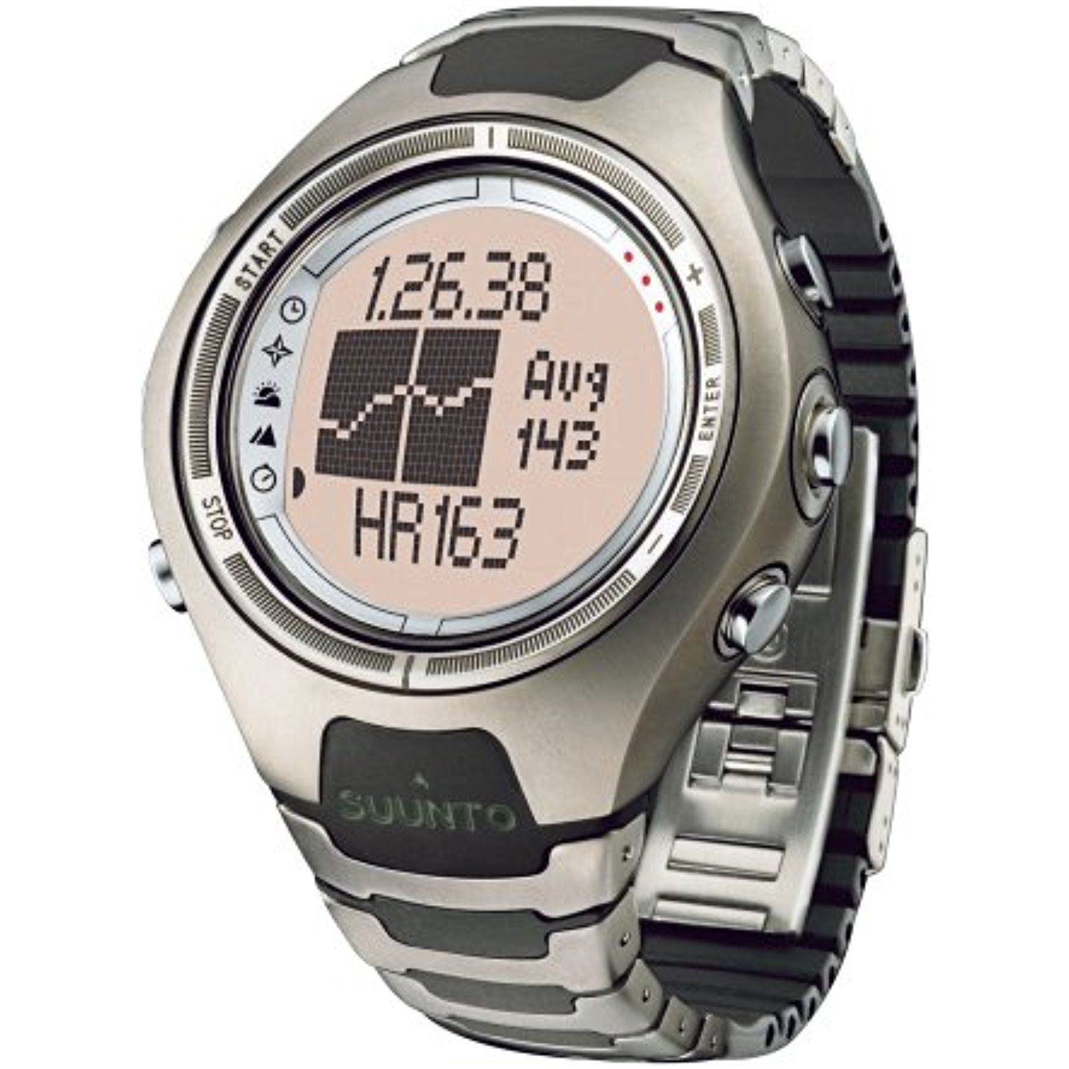 Suunto X6HRT Heart Rate WristTop Computer Watch with