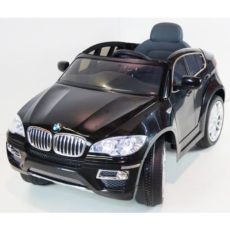 Rideoncarstore Com Ride On Car Bmw X6 Black With Radio Remote