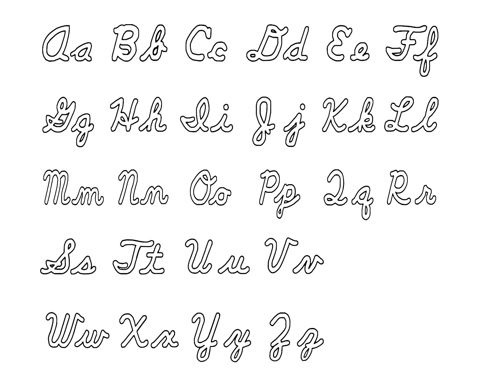 uppercase and lowercase alphabet alphabet and numbers