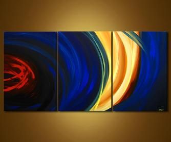 Abstract painting - Both Sides of the Story