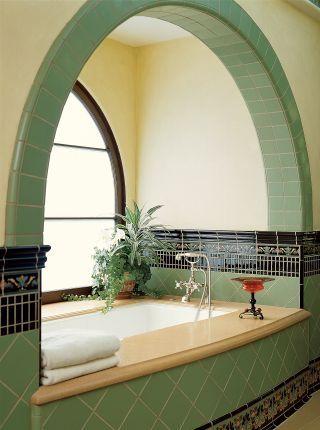 Creative Bathroom Tile Inspiration For Your Next Remodel Bathroom Creative Inspiration Remodel In 2020 Badezimmer Jugendstil Art Deco Badezimmer Design Fur Zuhause