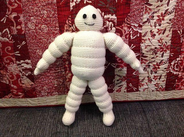 Michelin Man - Free Amigurumi Crochet Pattern - PDF Format click ...