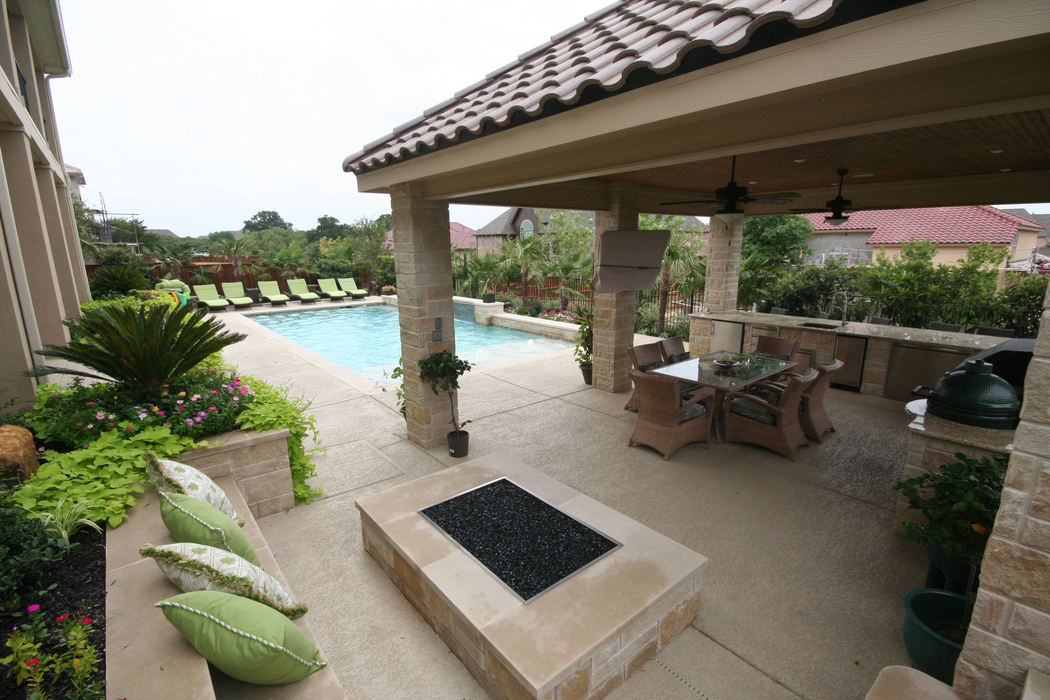 pin by pulliam pools on outdoor fireplaces and fire pits pinterest