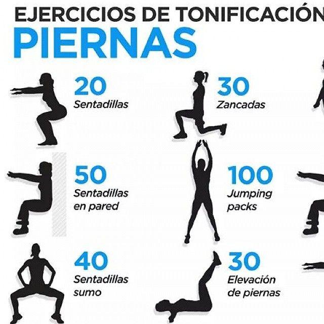"""Hoy toca piernas!! #Tonificacion #Piernas #Legs #LegsWorkout #Fitness #Fit #Sabado #Saturday"""