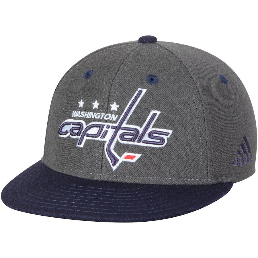 quality design e8ad8 fdf27 Men s Washington Capitals adidas Gray Navy Two Tone Fitted Hat, Your Price    33.99
