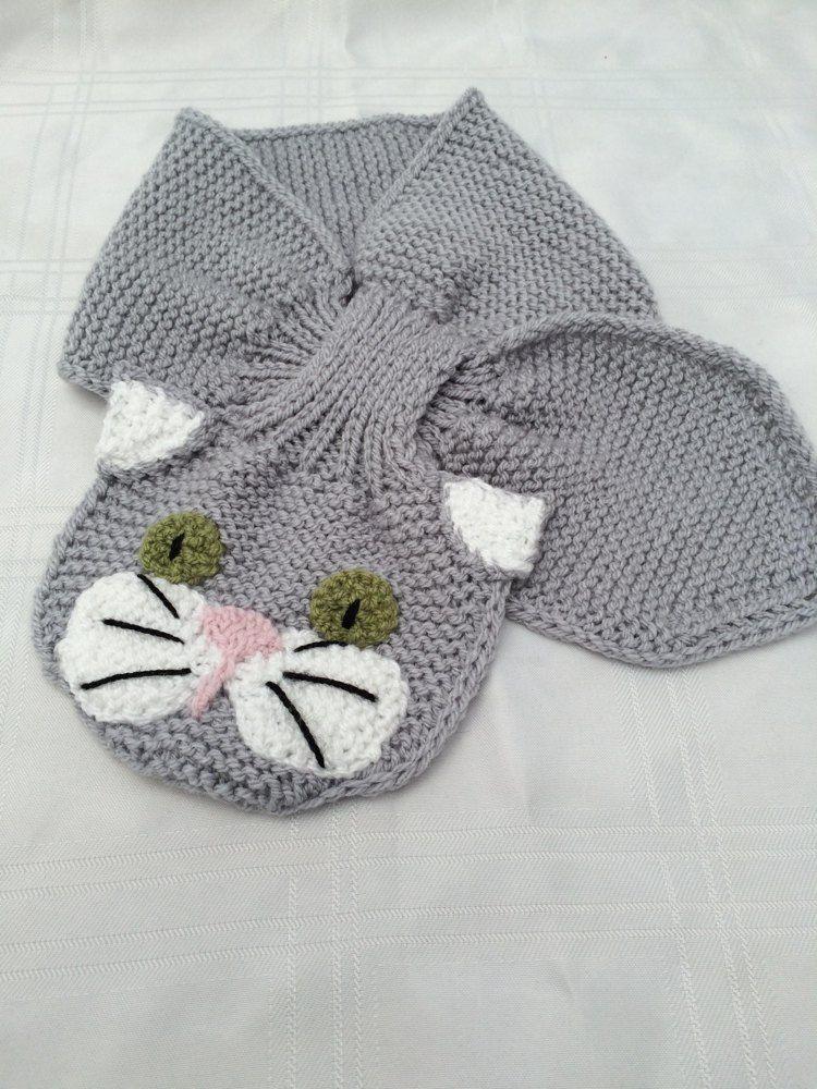 Animal Keyhole Scarves Scarf Patterns Pinterest Knitting