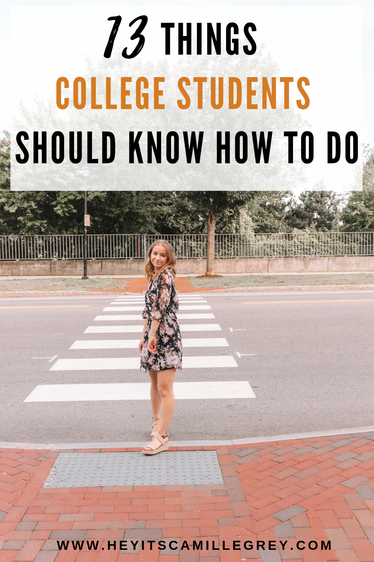 13 Things College Students Should Know How to Do | Hey Its Camille Grey #college #dormlife #students #collegestudent