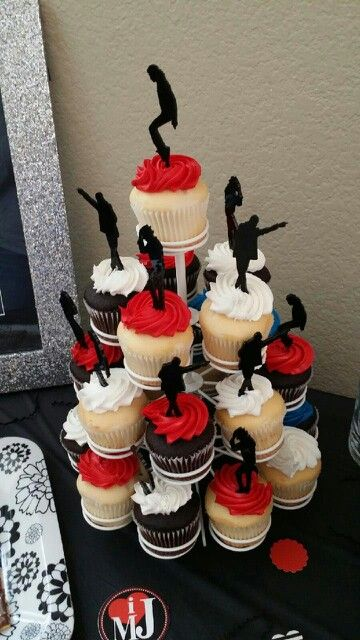 Loved These MJ Cupcake Toppers 40th Birthday Cakes 9th Parties 11th