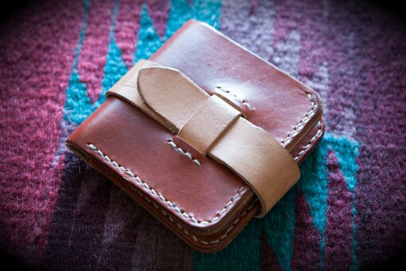 THE MOJAVE Rustic 5 Pocket Leather Bifold от TheVardoLeathers
