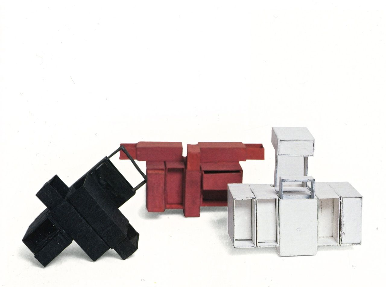 Lygia Clark, Matchbox Structures, (1964) Painted and glued matchboxes