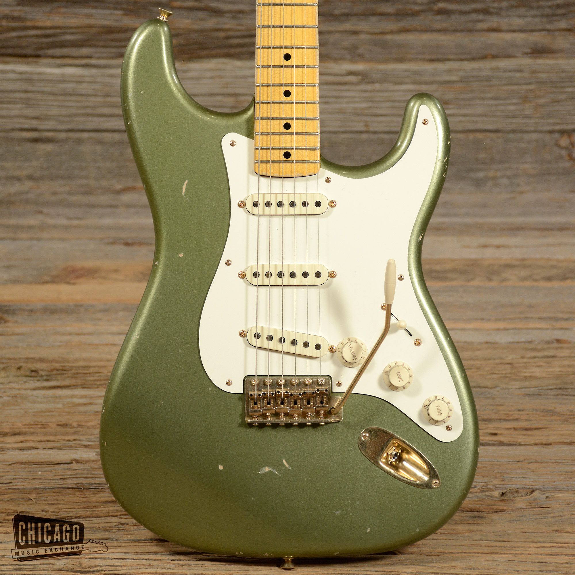 Fender Custom Shop Todd Krause Master Design '50s Strat Moss Green Relic (s457)