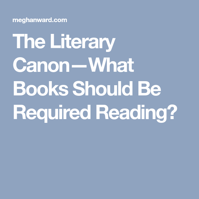 what is the literary canon