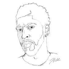 Anthony Davis Drawing Google Search Drawings Sketches