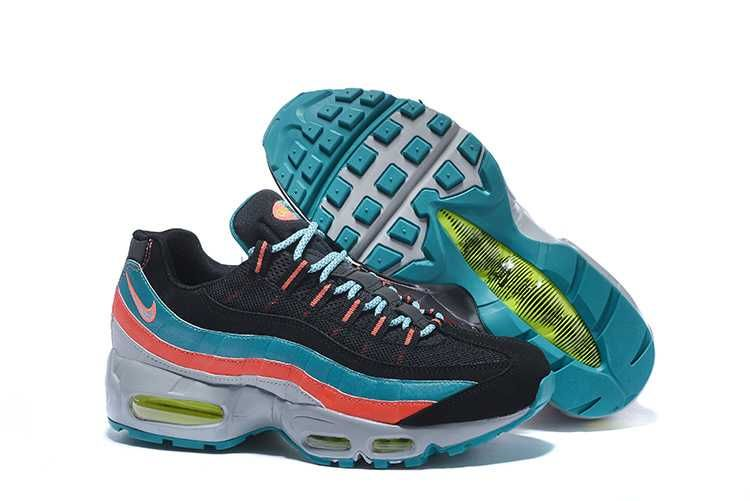 huge discount 1cd1c 6a9a7 1797   Nike Air Max 95 Herr Lake Svart Blå Orange Vit SE372073ddjbRsuai