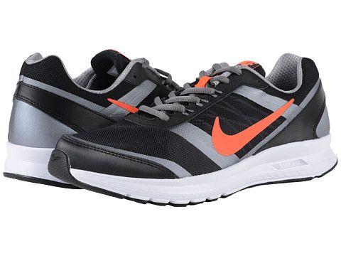 Nike Air Relentless 5 Black/MTLC Cool Grey/White/Total Crimson - 6pm.com