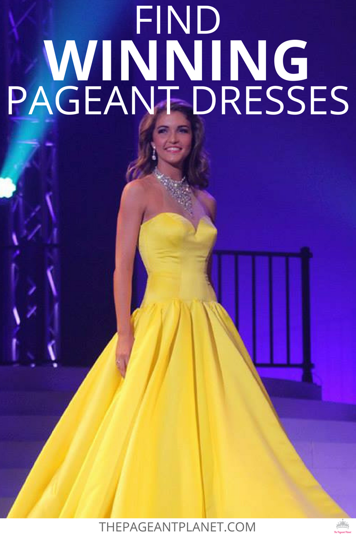 The Pageant Planet has evening gowns from all your favorite ...