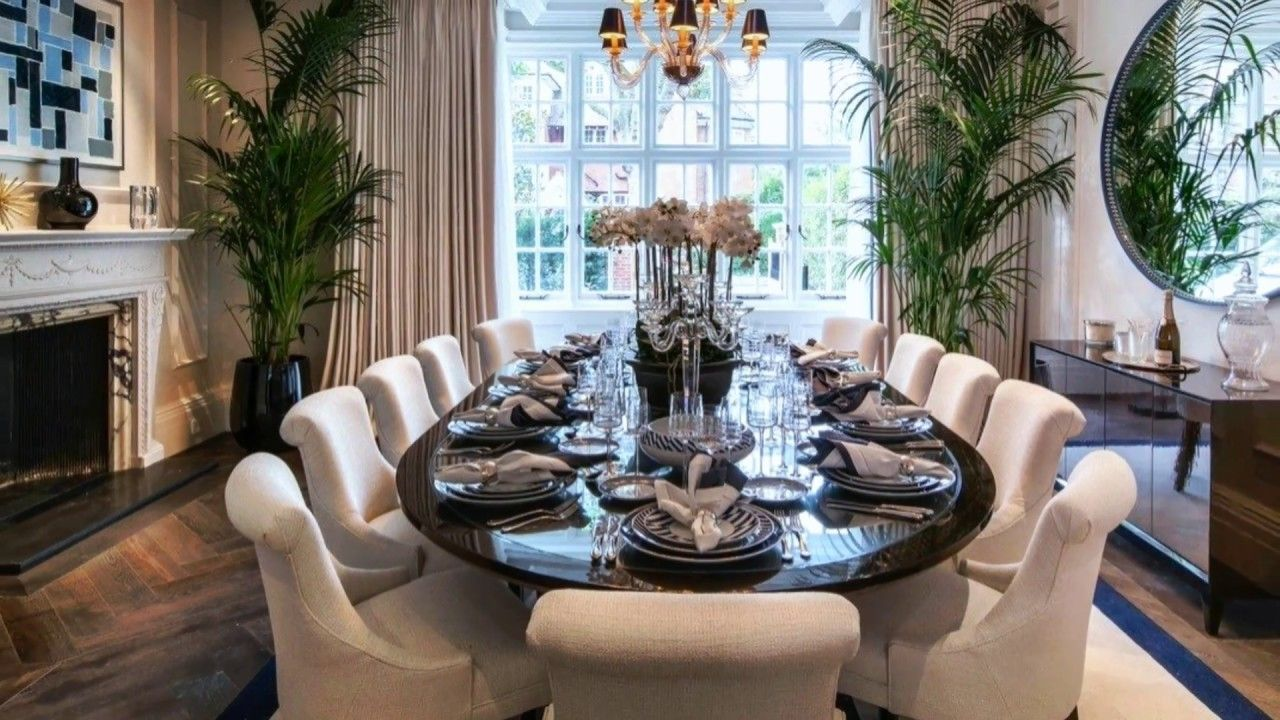 Modern Beautiful Dining Table Setting Ideas Youtube Contemporary Dining Room Tables Dining Room Arrangement Beautiful Dining Rooms