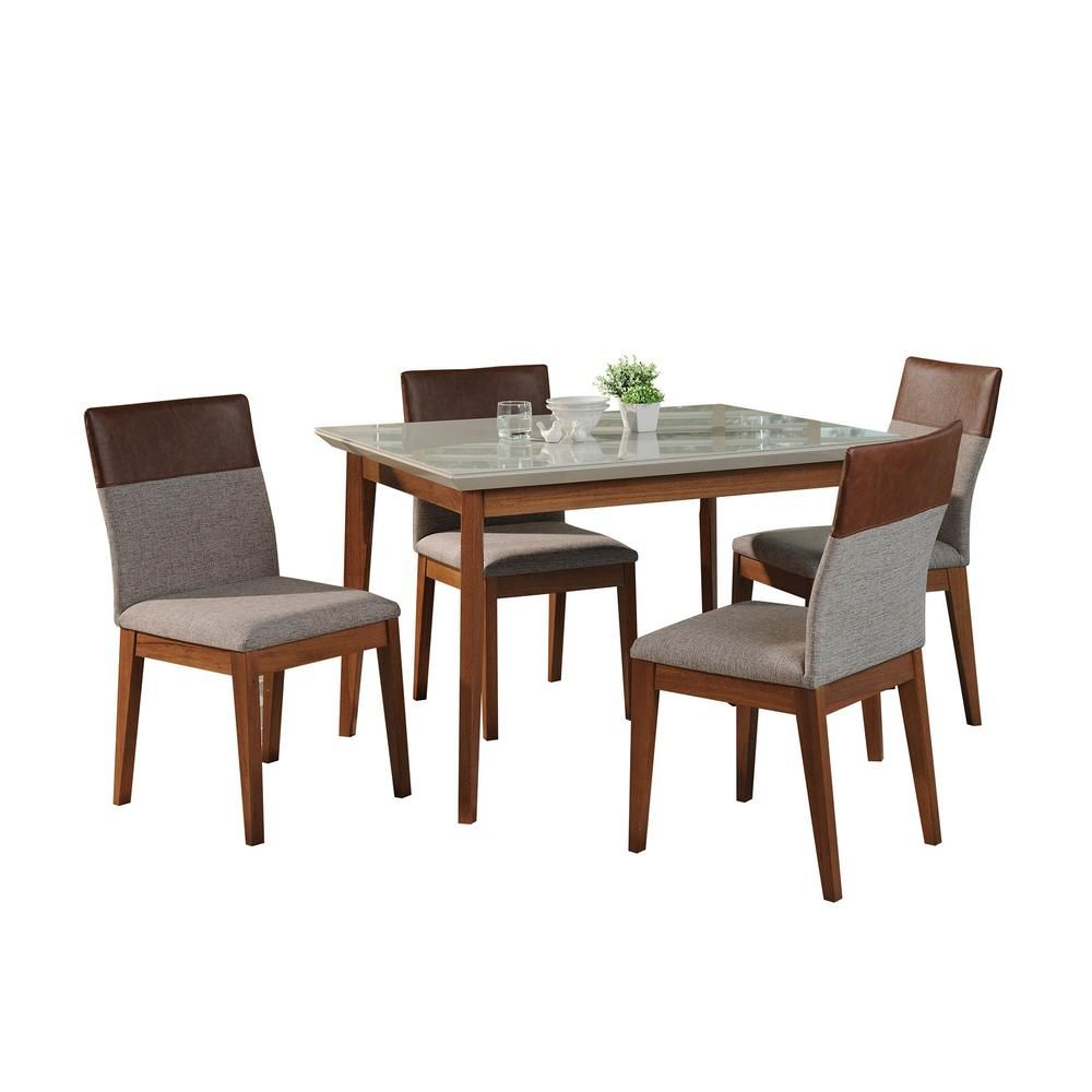 English Cottage Style for Your Inner Austen | Dining table, 5 piece dining set, Dining chairs