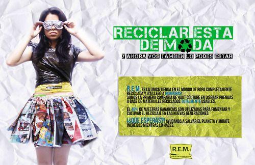 Prendas de vestir con material reciclado - Imagui