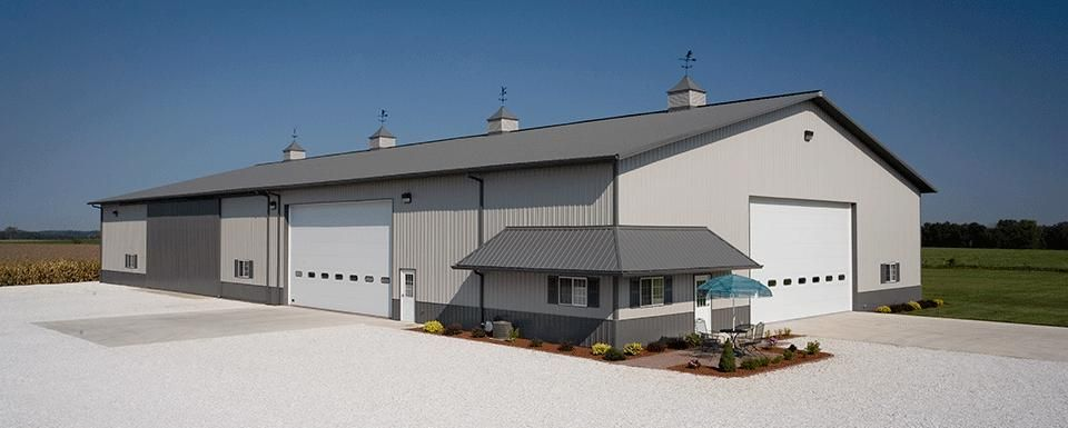 Combination Farm Shop And Machine Storage Peoria