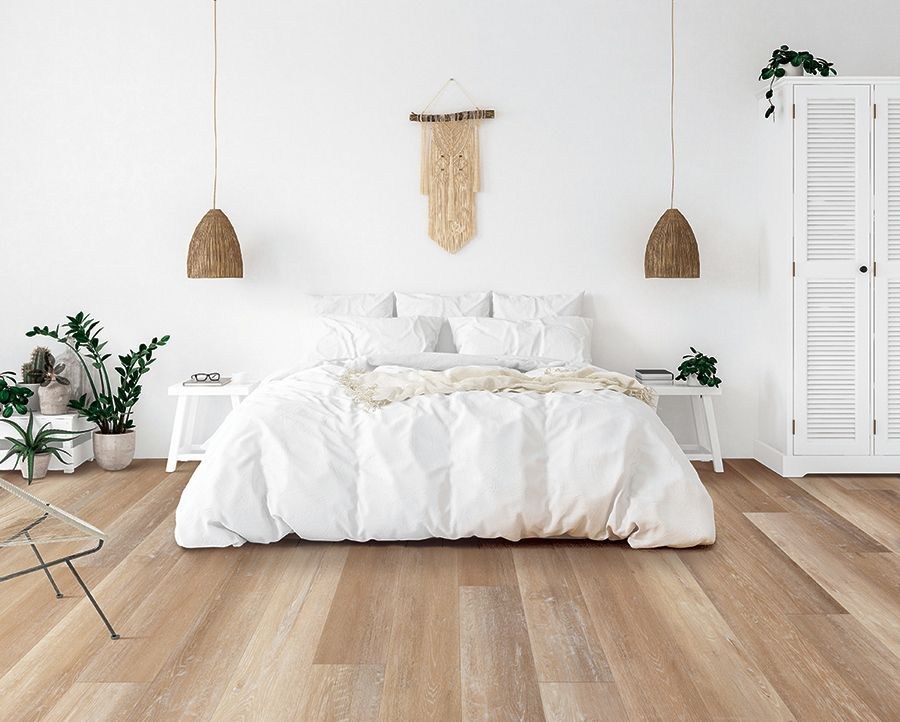 Picking out a new floor can be a tiring process. You want to make sure your  floor matches your design s…   Luxury vinyl plank, Bedroom floor tiles,  Bedroom flooring