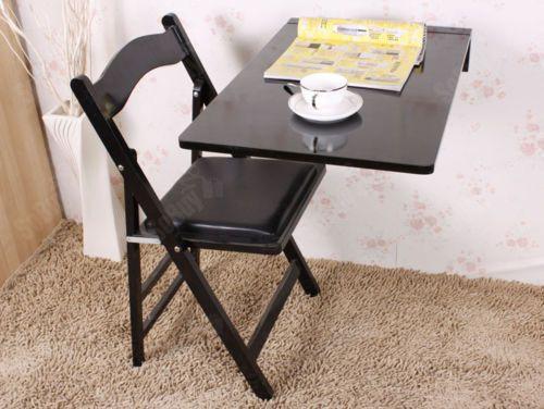 Wandklapptisch, Küchentisch, Kindermöbel, Esstisch 70x45cm FWT04 ...