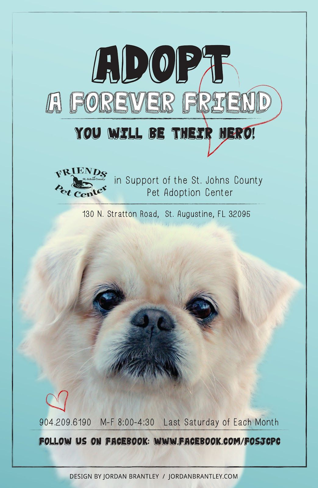 Adoption poster all creatures pinterest adoption for Dog adoption flyer template