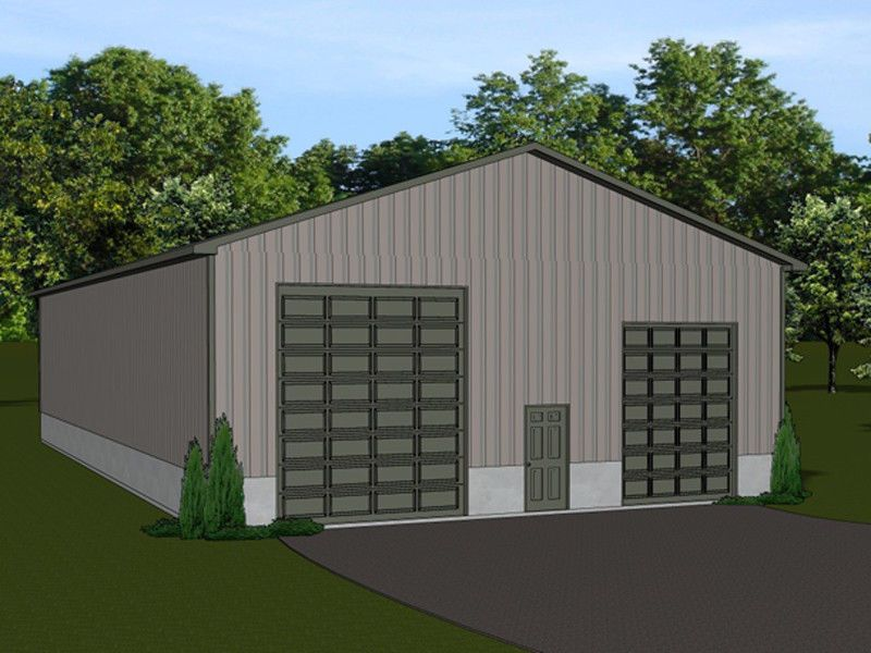 Details About 40 X80 Barn Plan With 4 Overhead Garage Doors Blueprint 1335 Barn Plan Overhead Garage Door 10x10 Shed Plans