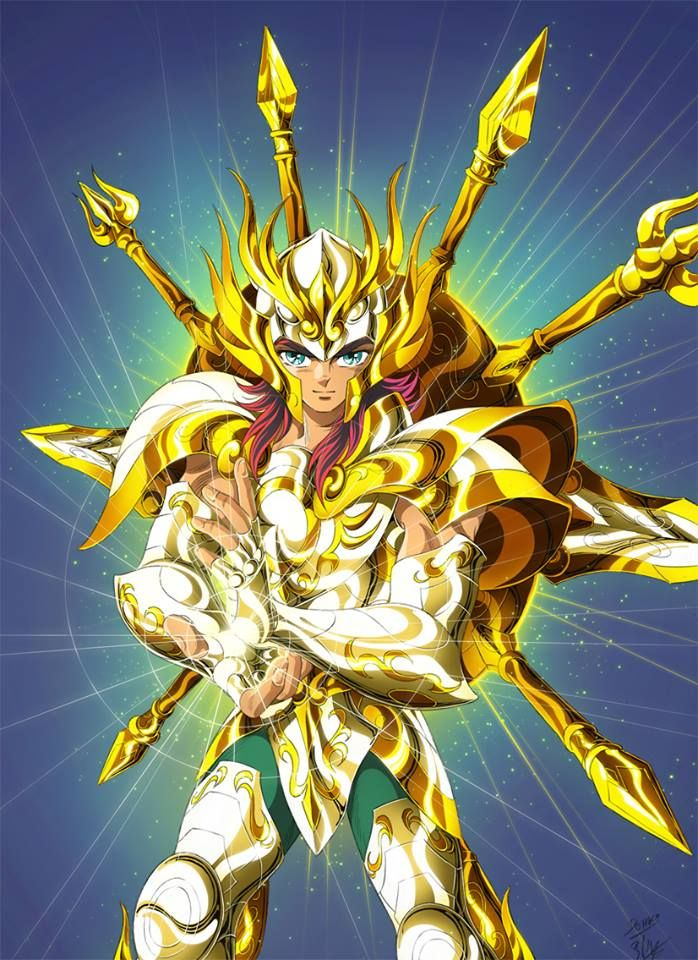 Fanarts By Spaceweaver Pharaon Website Lost Canvas Saint Seiya