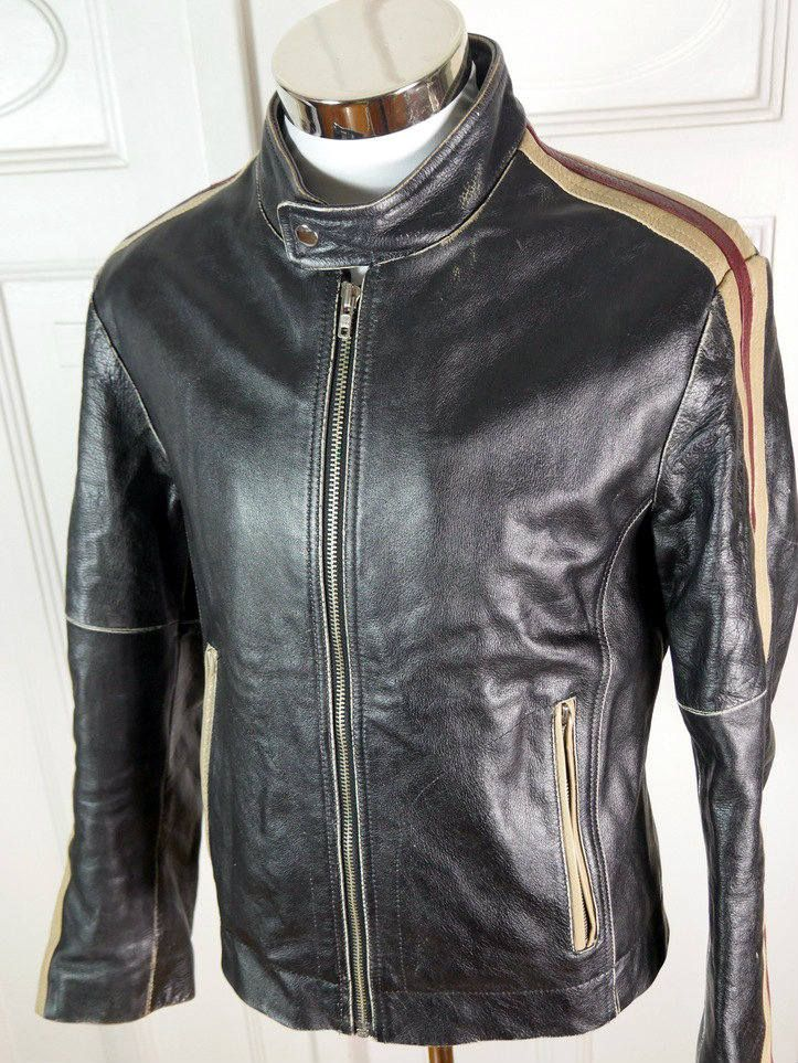 Your Place To Buy And Sell All Things Handmade Distressed Leather Jacket Leather Jacket Leather Motorcycle Jacket