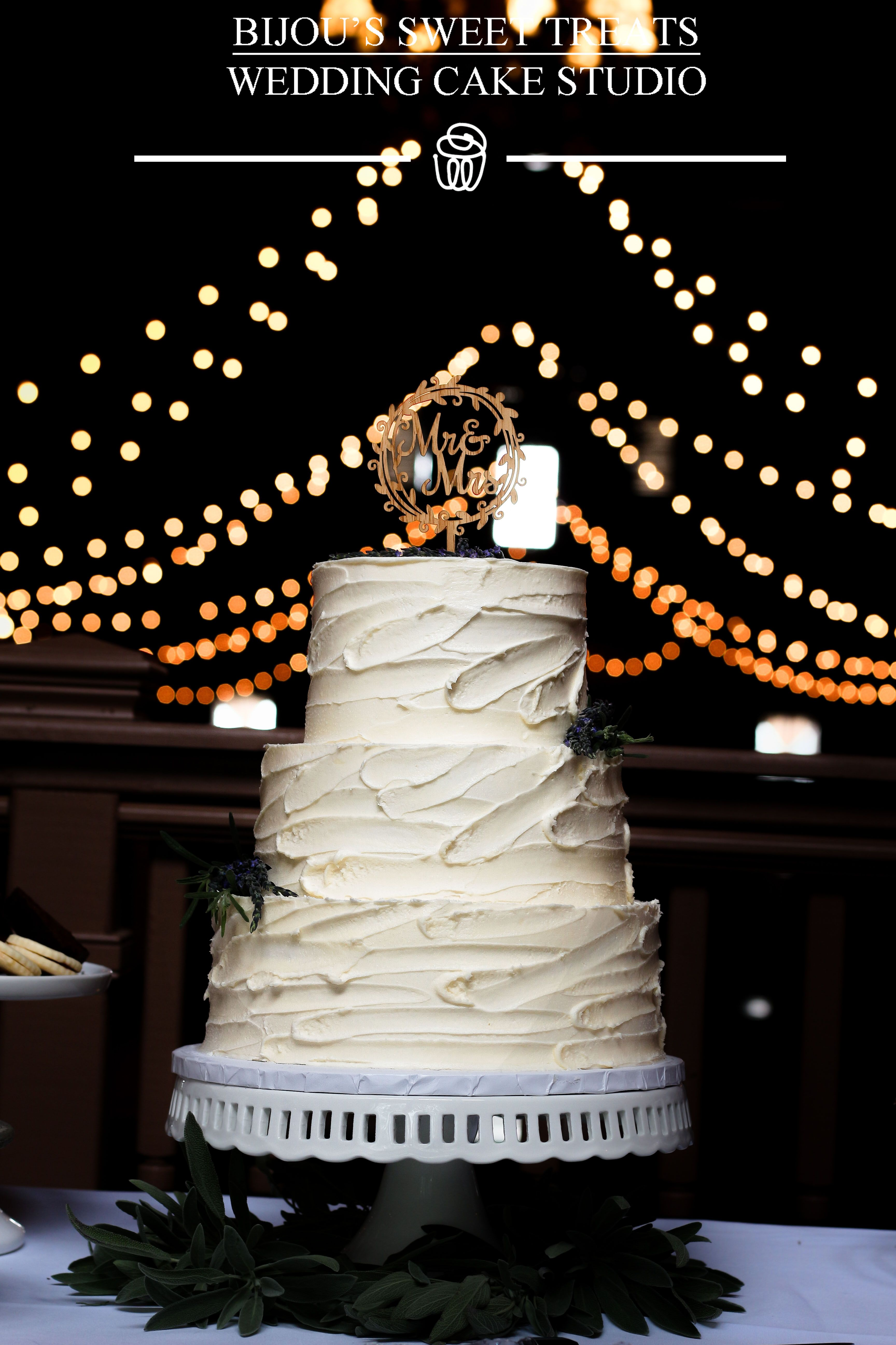 Textured Buttercream Wedding Cake By Bijou S Sweet Treats Wedding