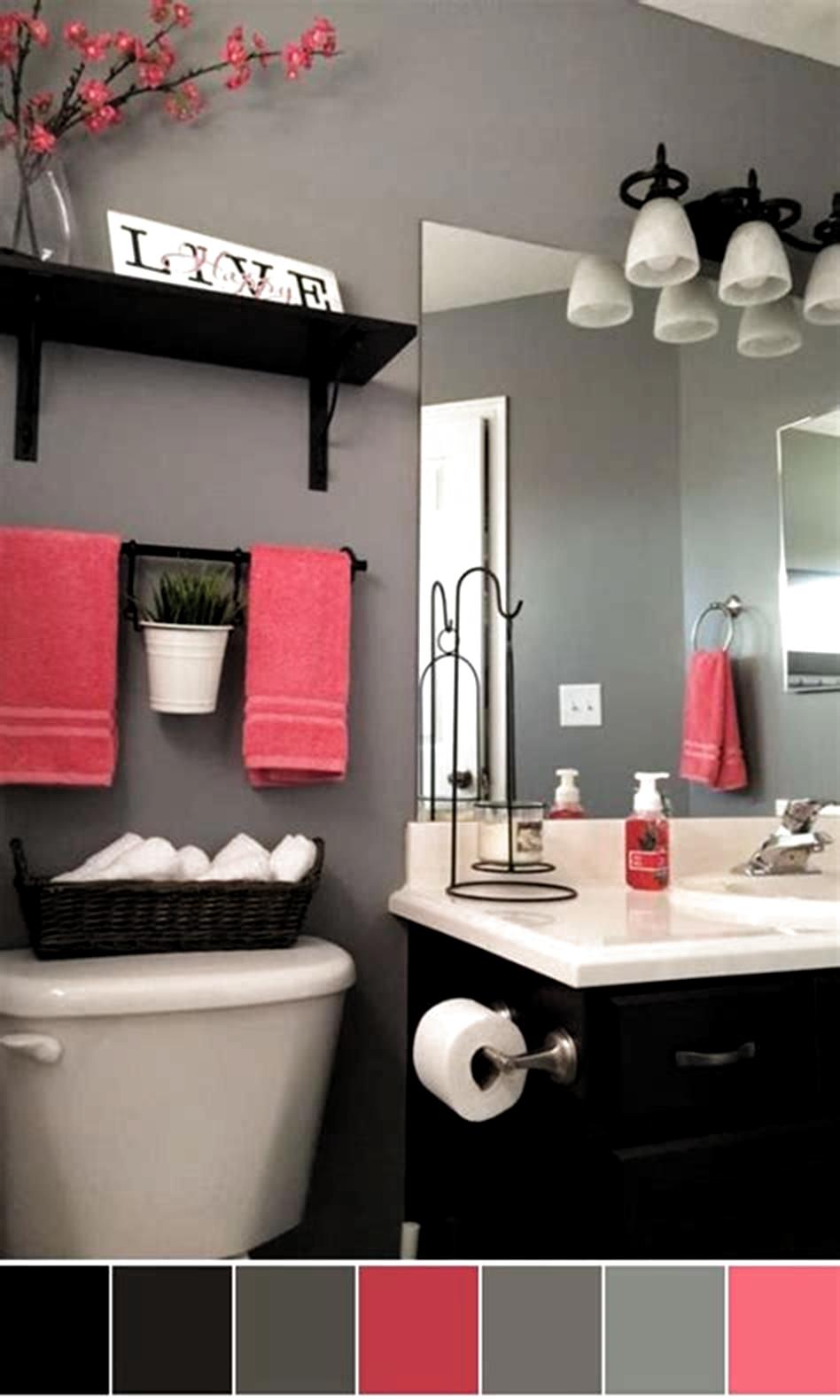 40 Best Color Schemes Bathroom Decorating Ideas On A Budget 2019 30 In 2020 Bathroom Color Schemes Gray Bathroom Decor Best Bathroom Colors