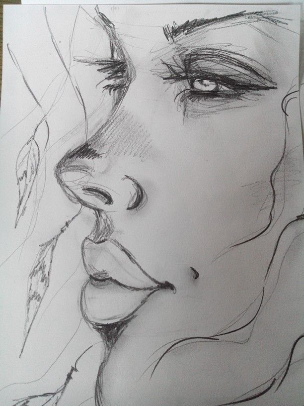 Croquis Crayon Dessin Femme Plumes Drawings Pinterest Drawings