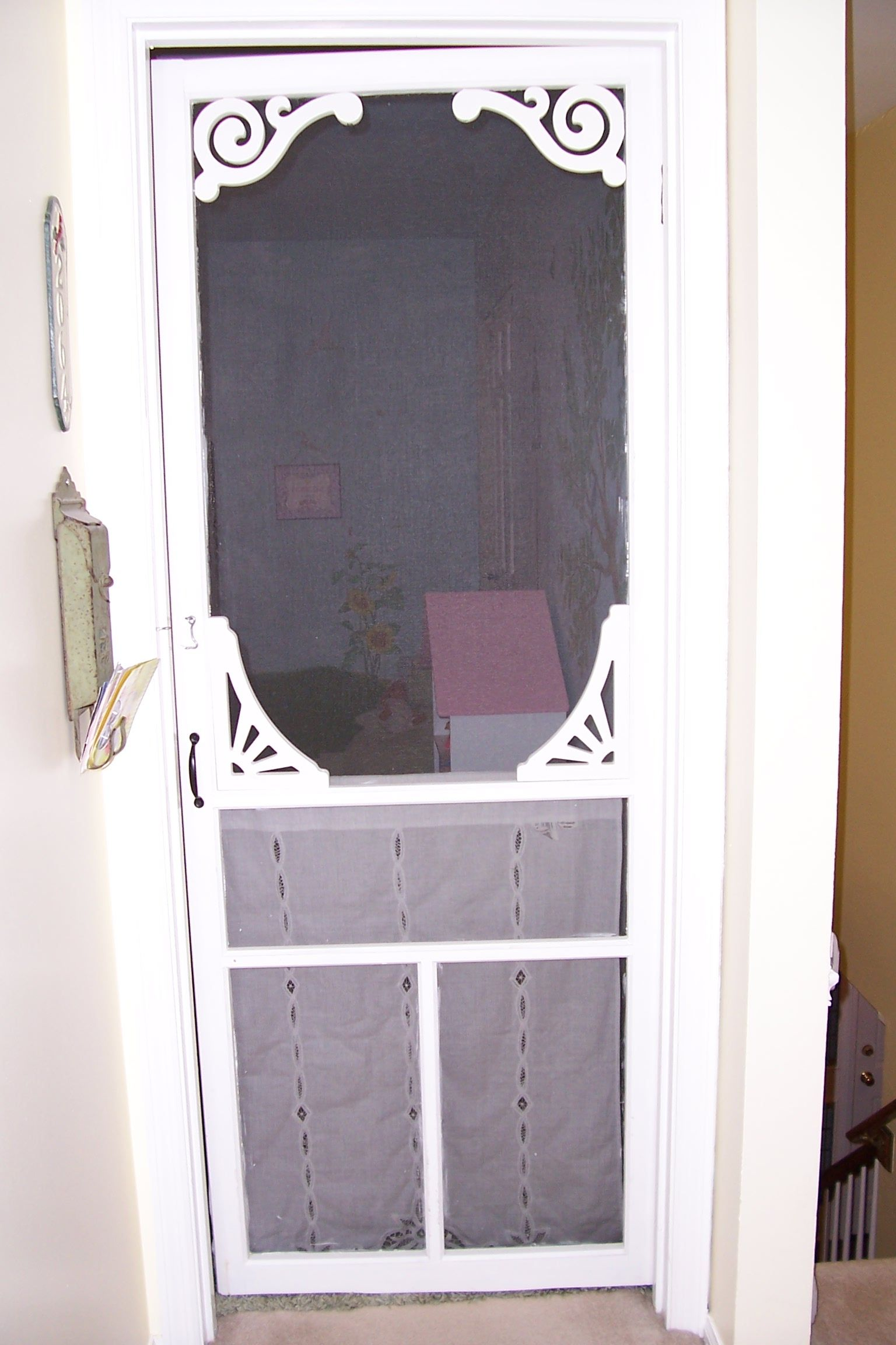Installing A Screen Door On Bedroom And Nursery Doors Lets Your Animals See What S Going