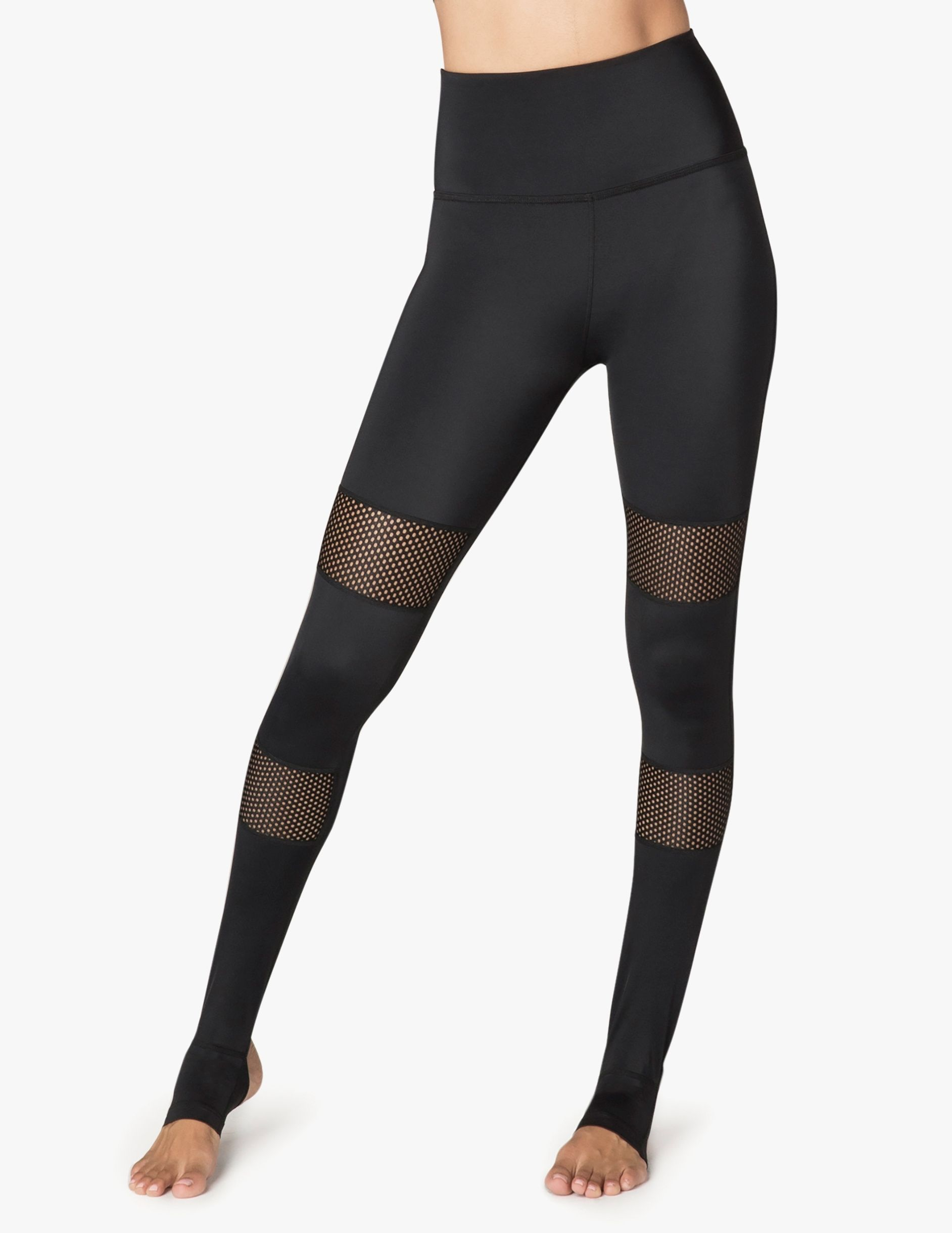 932ddbf3076bf Compression Blocked Out High Waisted Stirrup Legging | Olive Wants ...